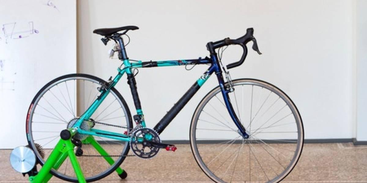 En esta bicicleta conceptual podrás pasar los cambios con la mente