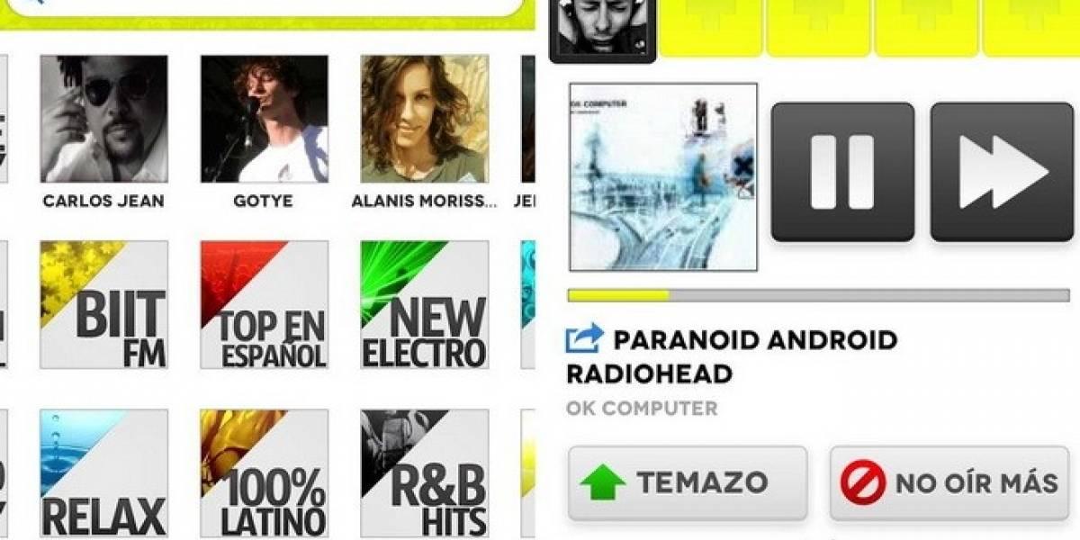 México: Ya está disponible biit, un app para escuchar música gratis