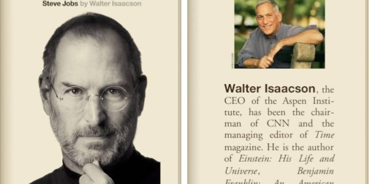 Hoy se lanzó la biografía de Steve Jobs en iBooks y Amazon