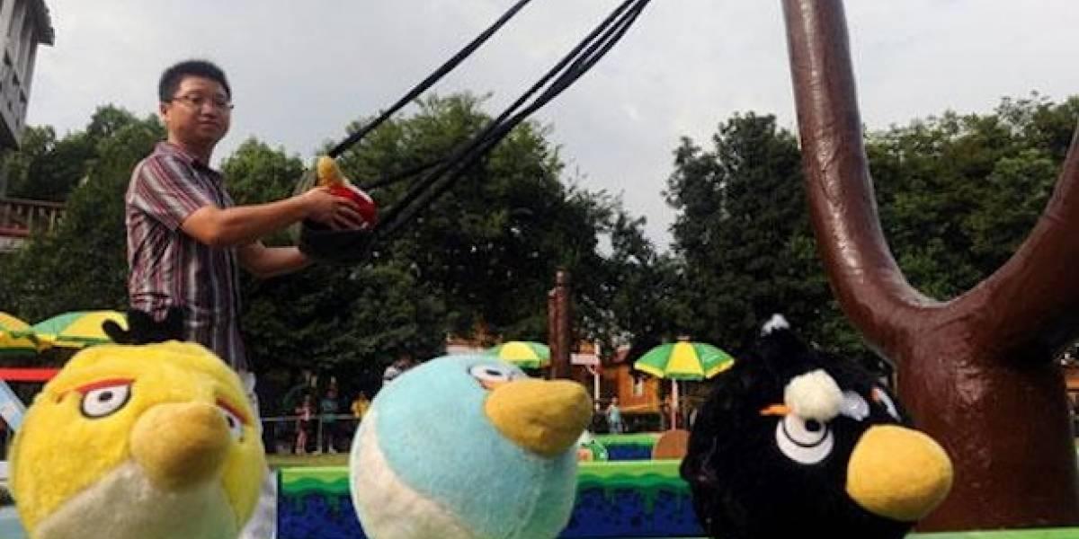 WTF? Parque temático de Angry Birds en China