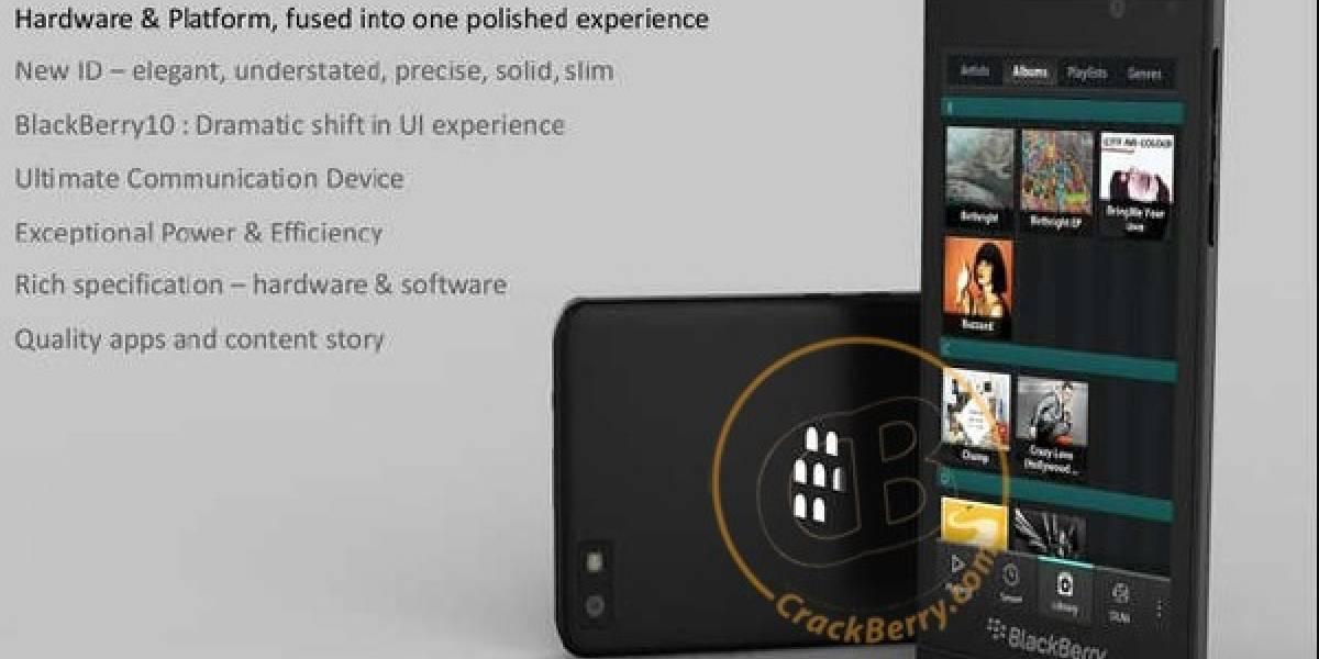 Octubre será la fecha en que el primer móvil con BlackBerry 10 llegue al mercado