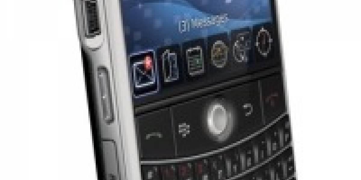 La interfaz de la BlackBerry Bold en acción