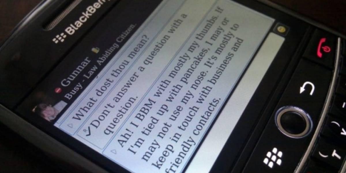 BlackBerry gana el premio Fiasco Award 2012