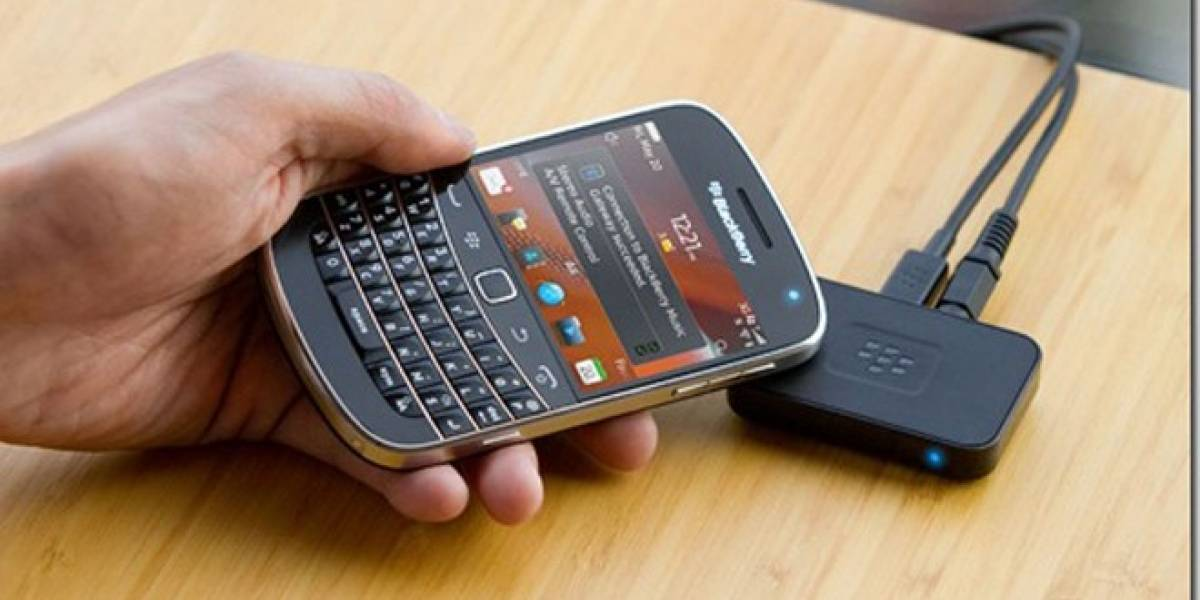 RIM actualiza su BlackBerry Music Gateway con NFC