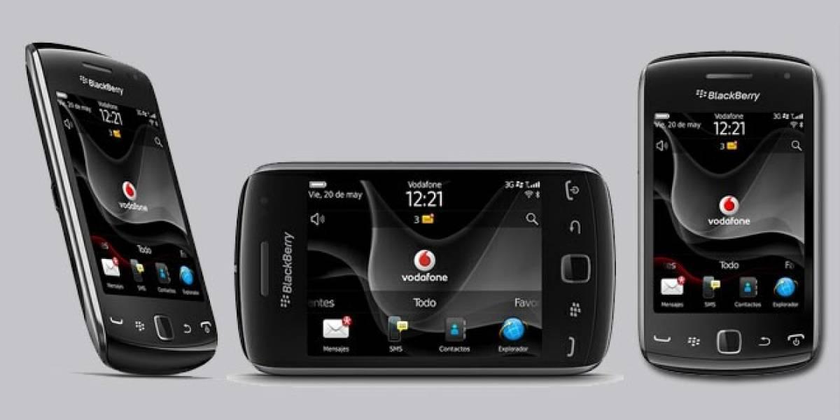 Vodafone España lanza en exclusiva el BlackBerry Curve 9380 by Pacha