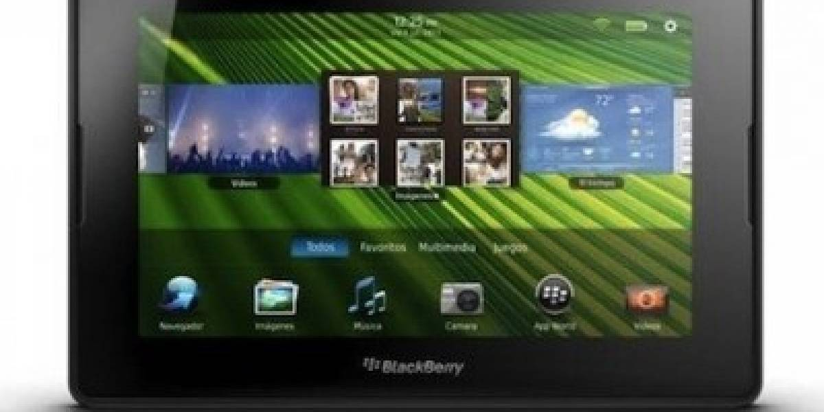BlackBerry Playbook disponible en Argentina con la operadora Claro