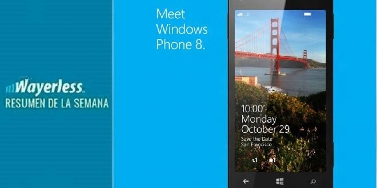 Windows Phone 8 llega el 28 de Octubre, Sharp y su pantalla de 6,1 WQXGA, se filtra Lumia 510, Samsung ahora demanda Apple y más!