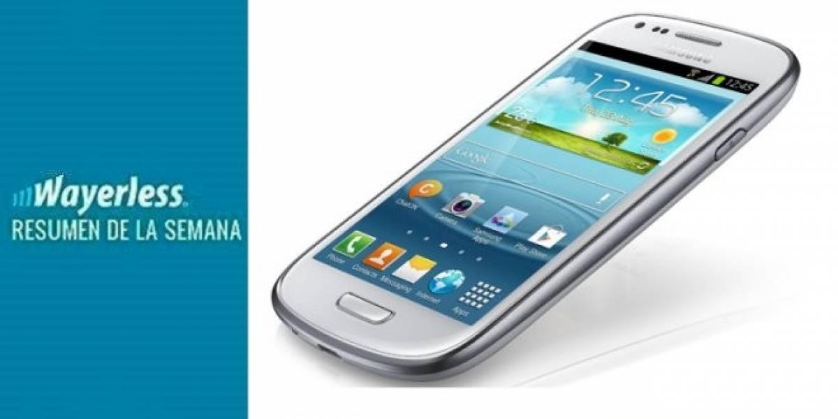 Llegan Galaxy SIII Mini y Music, nuevo Facebook para Android más cerca, RAZR i llega a Chile y mucho más!