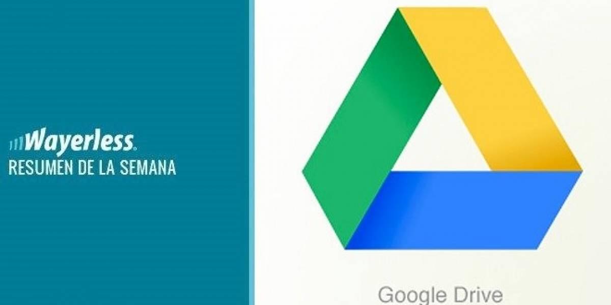 El lanzamiento de Google Drive, imágenes del Galaxy SIII, un nuevo W Labs y mucho más...