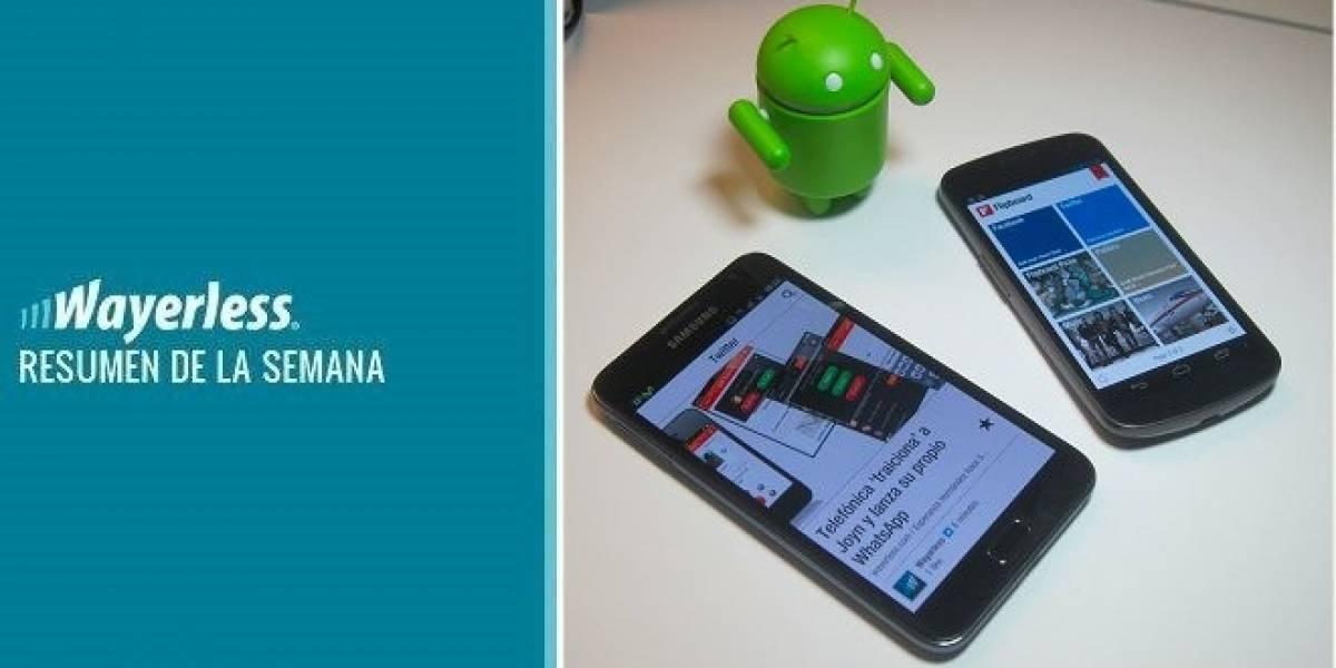 Flipboad llega a Android, El New iPad ya disponible en Chile, ICS para el Galaxy Note y mucho más...