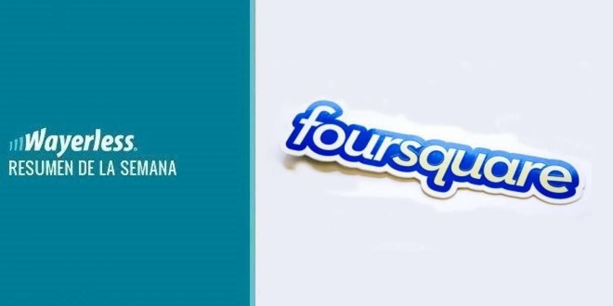 Foursquare llega con un renovado diseño, HTC One X aterriza en Chile, Apple presentará iOS6 y más...