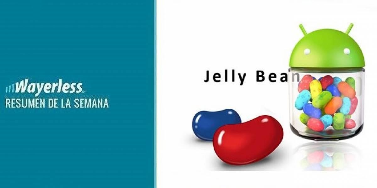 Llega Jelly Bean al Galaxy Nexus, los españoles se rinden a Android, Entel sobrepasa a Movistar en clientes y más!