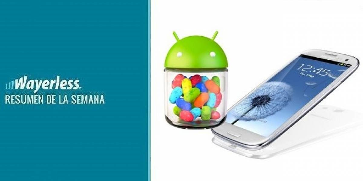 Jelly Bean para SIII en Agosto, Belle FP2 aparece en video, Samsung vende más móviles que Apple, y más