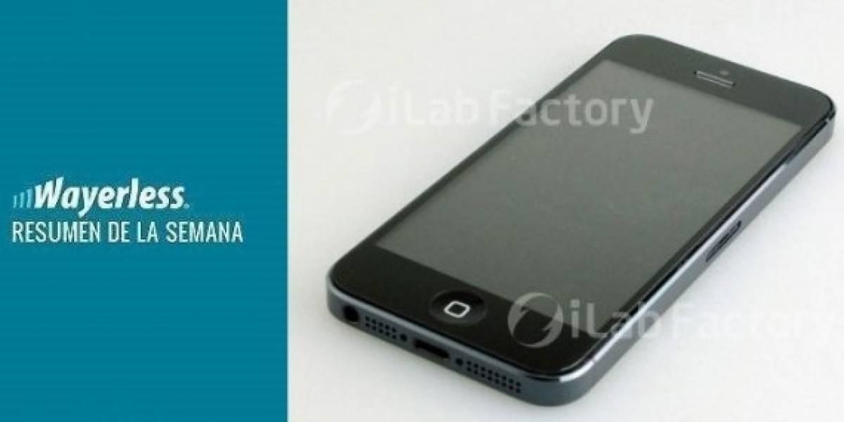 Se filtran imágenes del un supuesto iPhone 5, se anuncia un nuevo Samsung Galaxy Note, y más