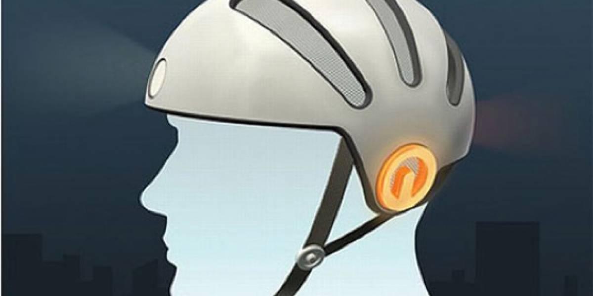 Blink Bike Helmet: un casco para hacer visibles a los ciclistas en las noches