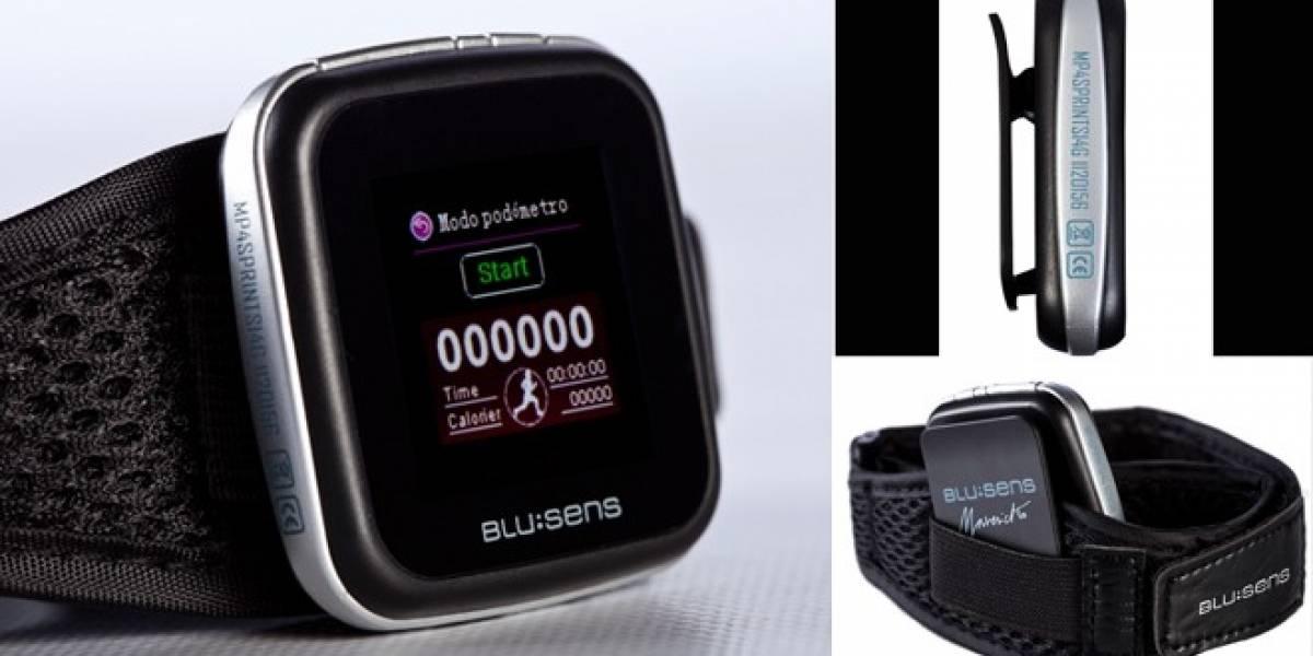 Blusens presenta su nuevo MP4 ultraligero con podómetro incorporado