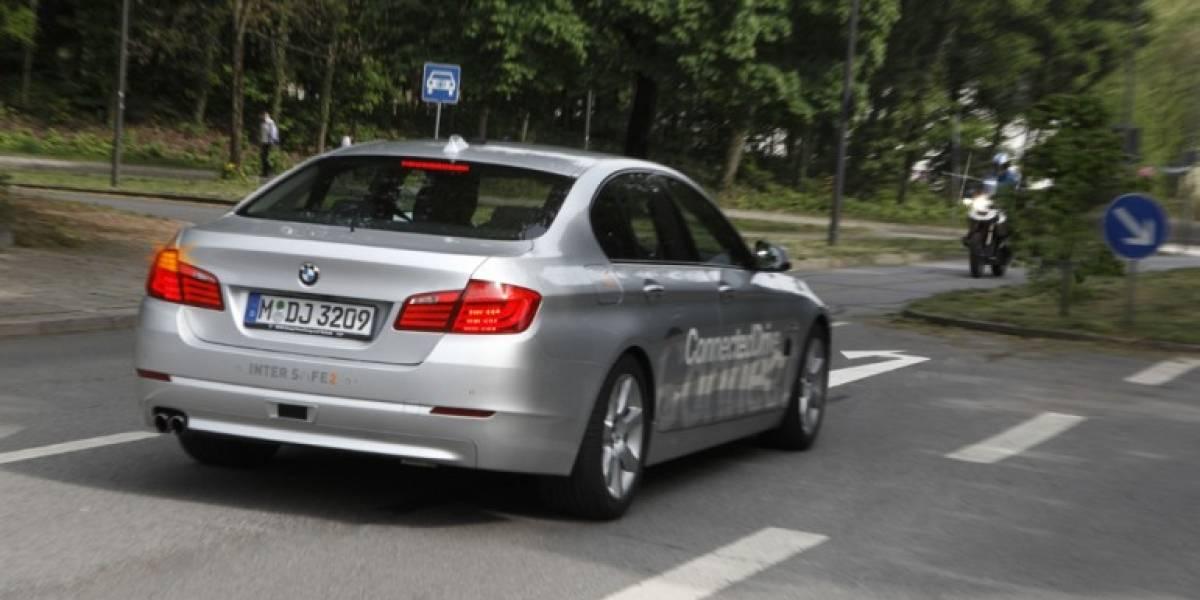 BMW ayuda a los conductores a doblar a la izquierda usando un láser