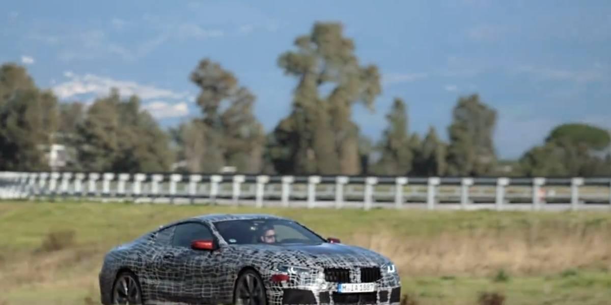 Video adelanto del nuevo Serie 8 Coupe de BMW