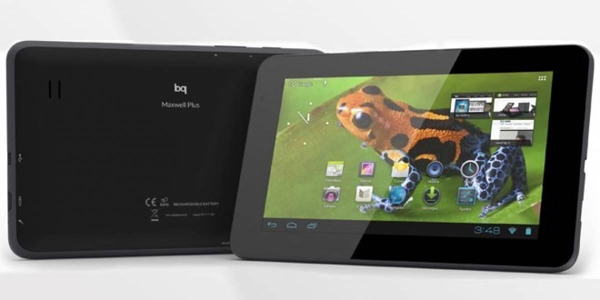 """La española bq presenta su familia Maxwell con tres nuevos tablets 7"""" Android"""