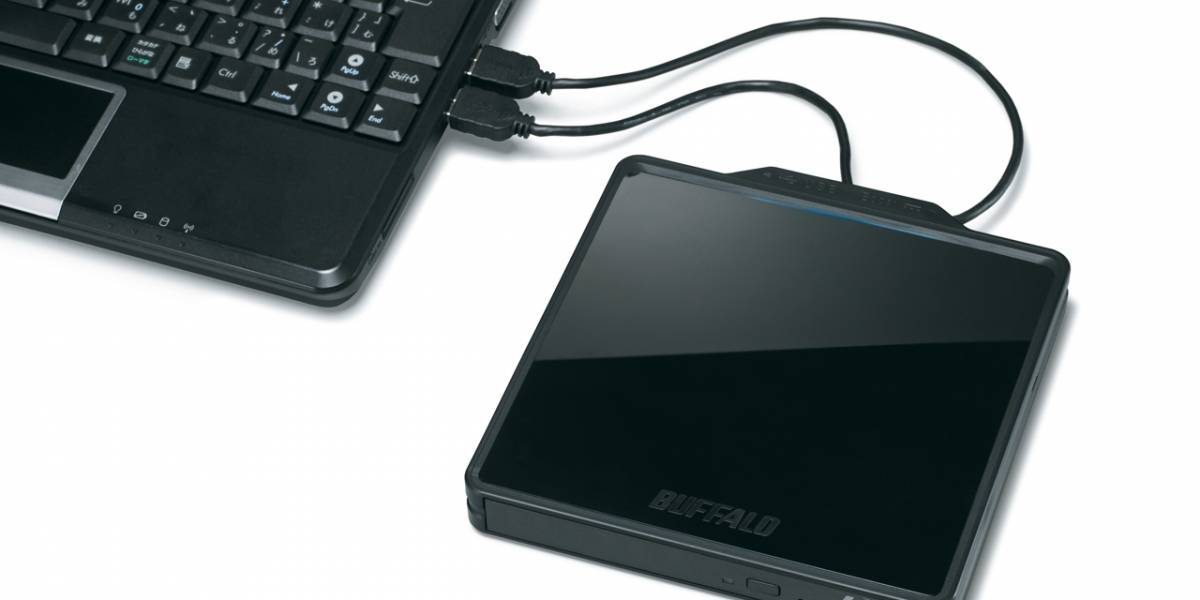 Buffalo lanza una nueva grabadora portátil de discos Blu-ray BDXL