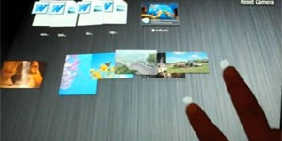 BumpTop: Escritorio 3D multitáctil