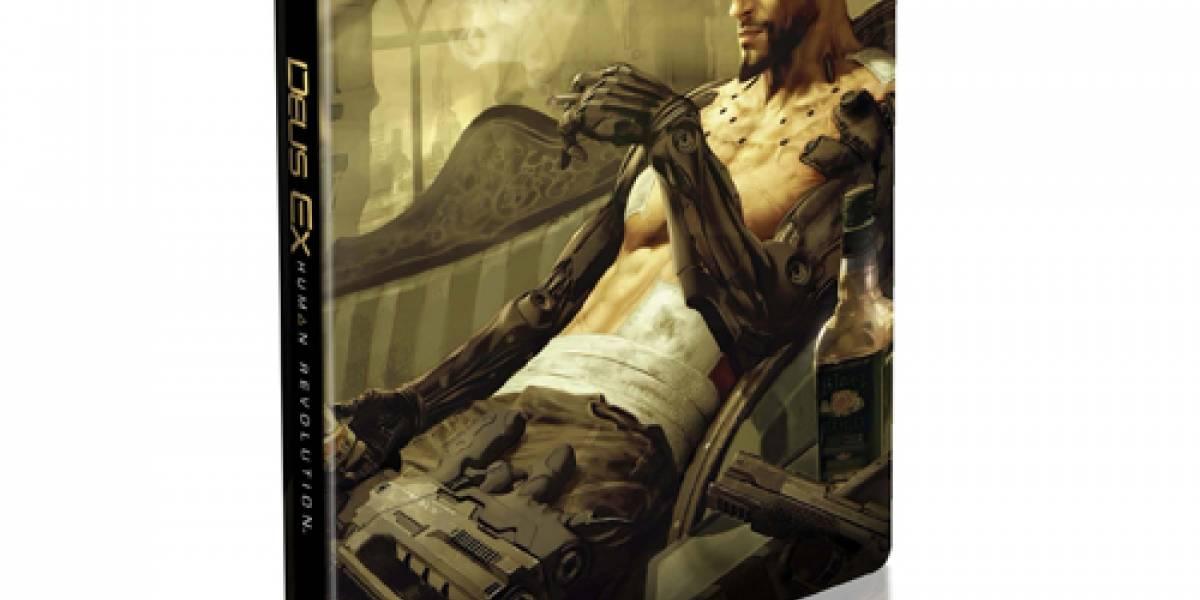 España: Reserva Deus Ex Human Revolution y llévate lo siguiente...