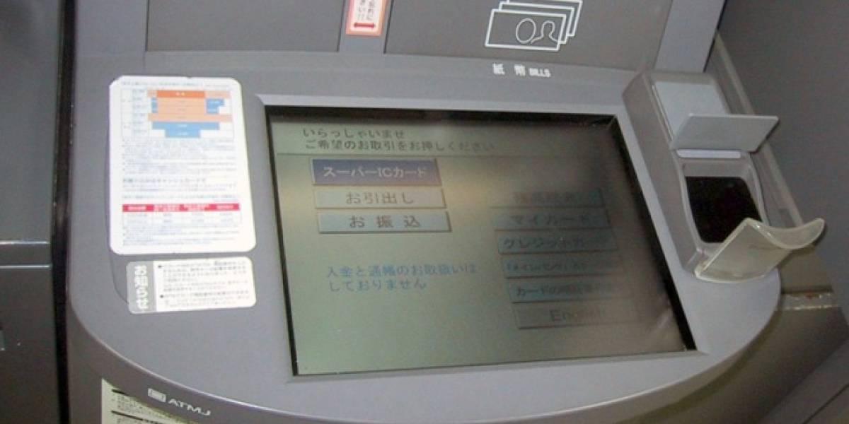En Japón usarán cajeros automáticos biométricos que escanean la mano