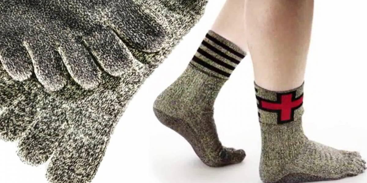 La moda también incluye calcetines para usarlos en todo tipo de terreno