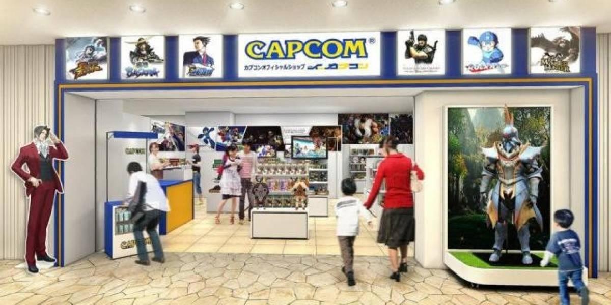 Capcom contará con su tienda propia en Japón