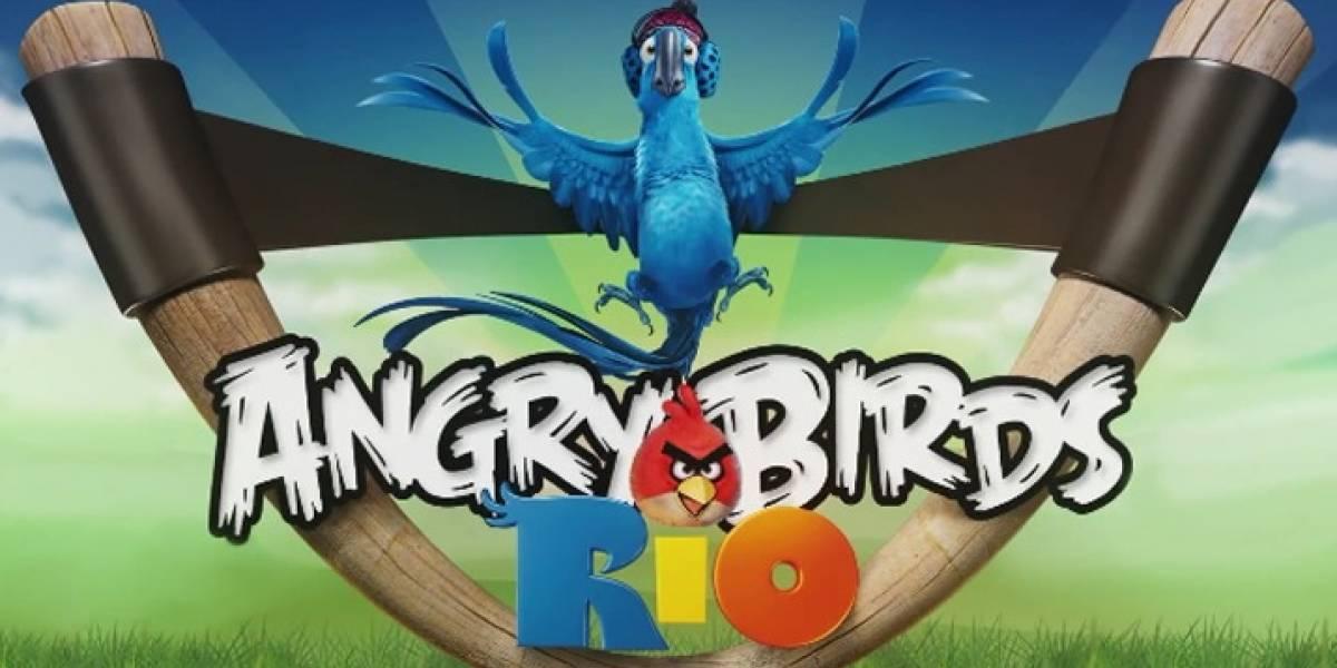 Se anuncia nueva versión de Angry Birds para marzo