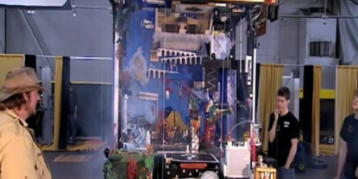 La historia del universo contada en una máquina Rube Goldberg
