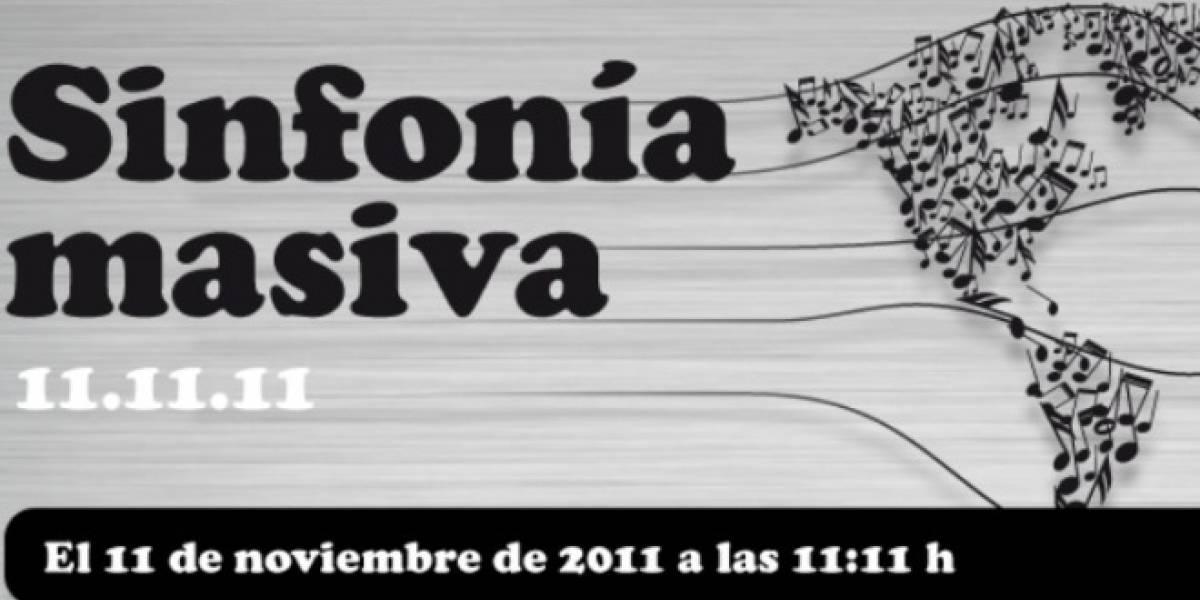 El 11/11/11 a las 11:11 una misma sinfonía unirá al mundo