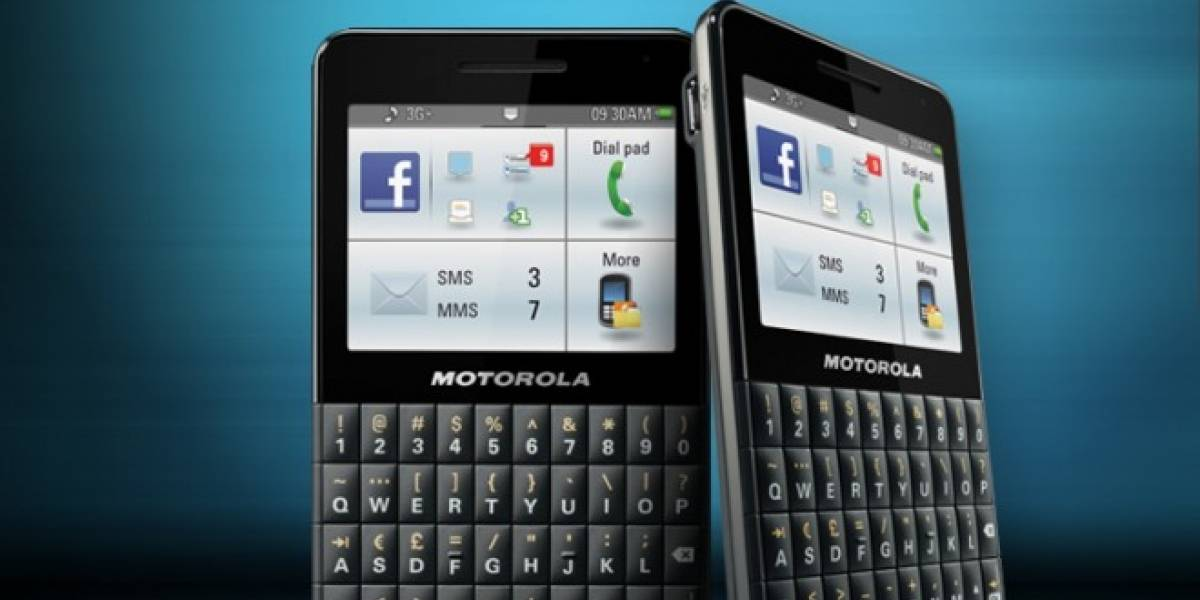 Motorola aventura un móvil para Facebook... ¿Sentirá celos Google+?