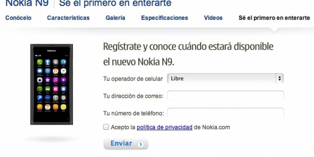 El Nokia N9 aterriza hoy en 4 países latinoamericanos