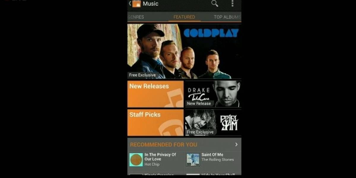 Android Market inaugura su sección de música, sacando a Google Music del Beta