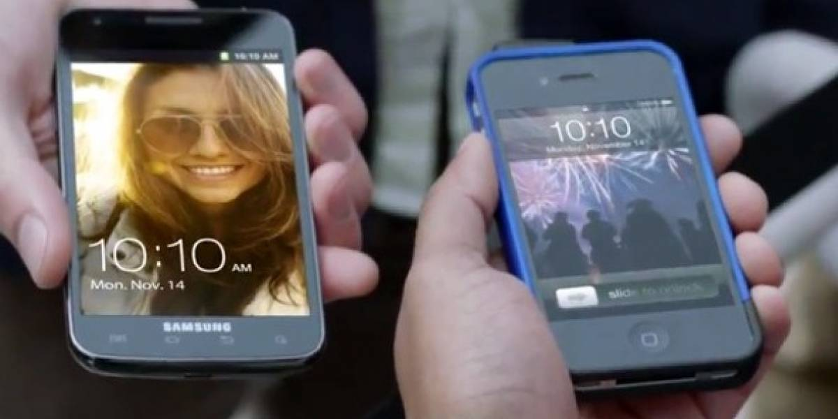 Samsung se burla de usuarios del iPhone en nuevo video del Galaxy S II