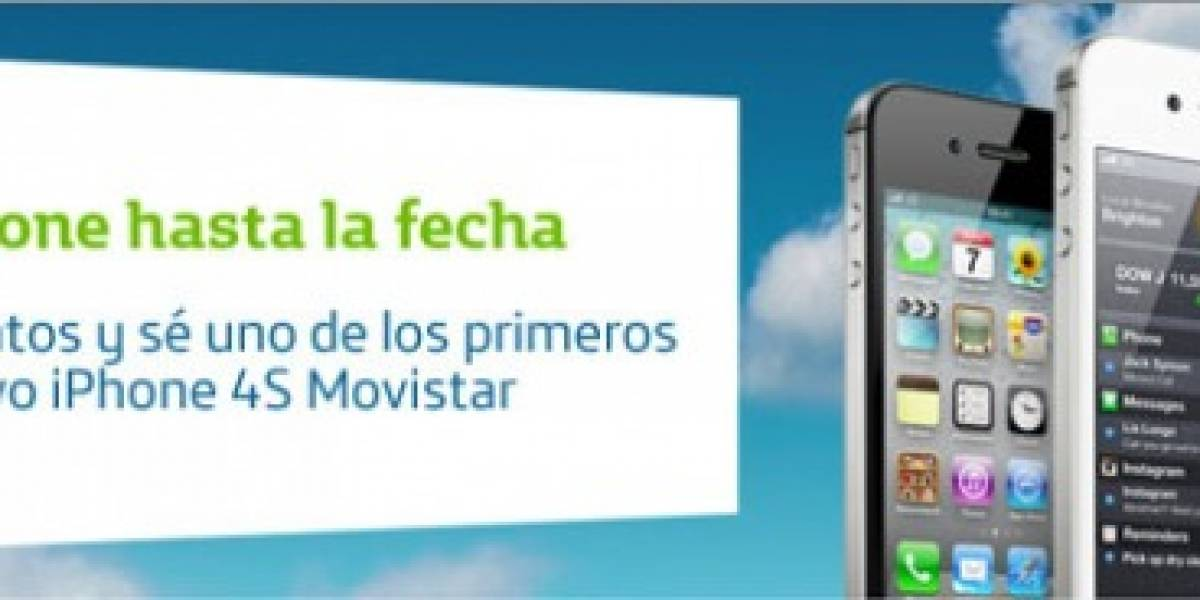 Confirmado: iPhone 4S en Movistar Venezuela