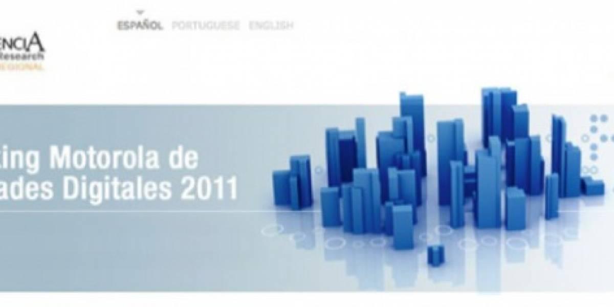 Ranking Motorola muestra las ciudades más digitalizadas de Latinoamérica