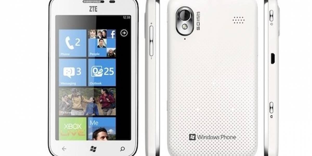 Windows Phone en ZTE llegaría a EEUU en diciembre