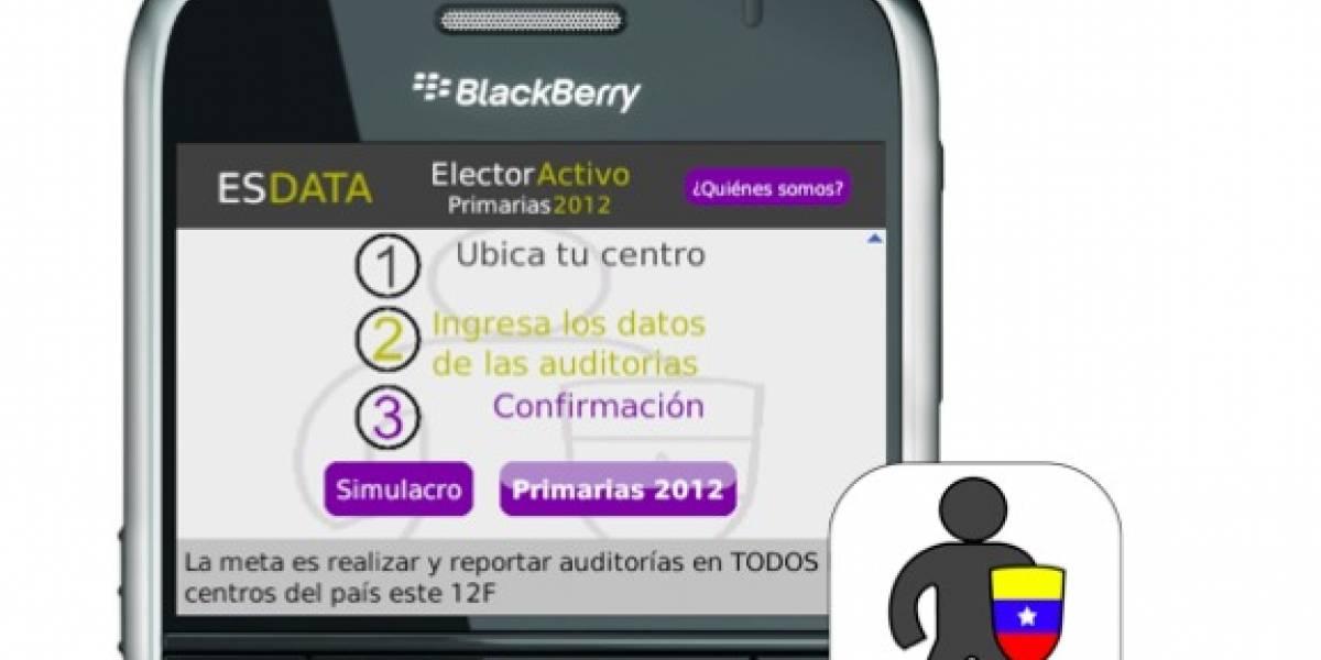 Venezuela: Elector Activo, la app para monitorear votaciones