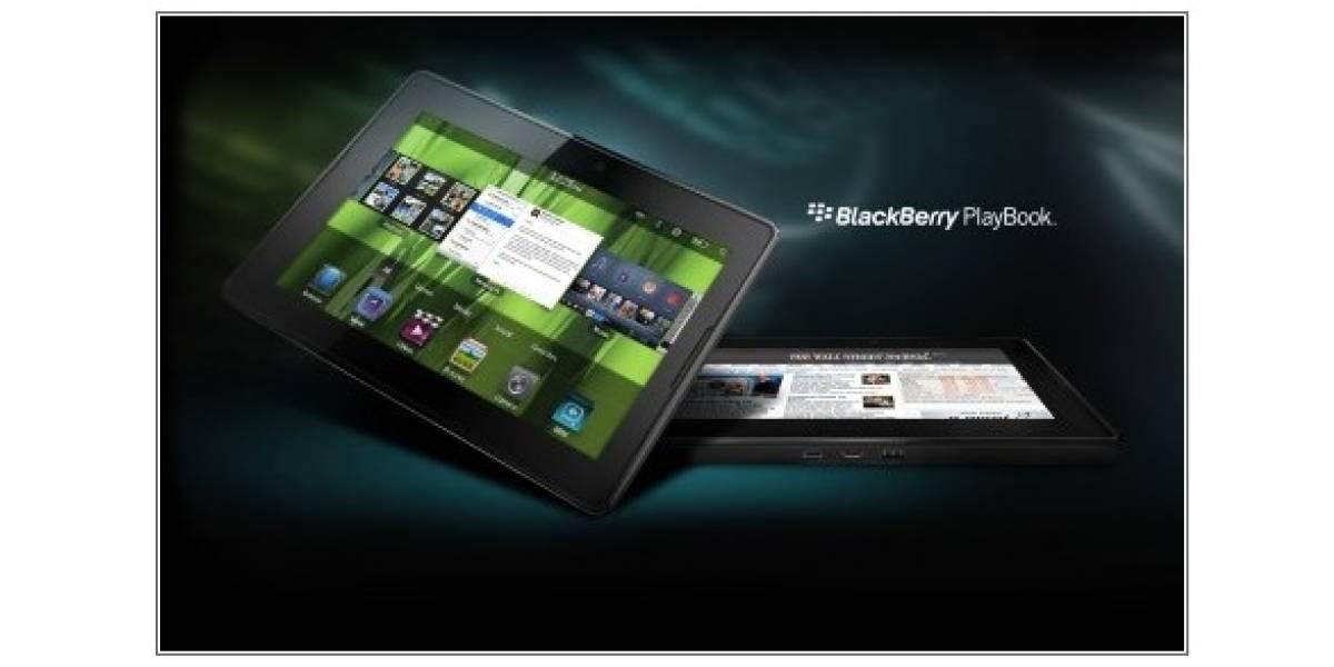 Blackberry Playbook OS 2.0 vendría con el Rey Momo