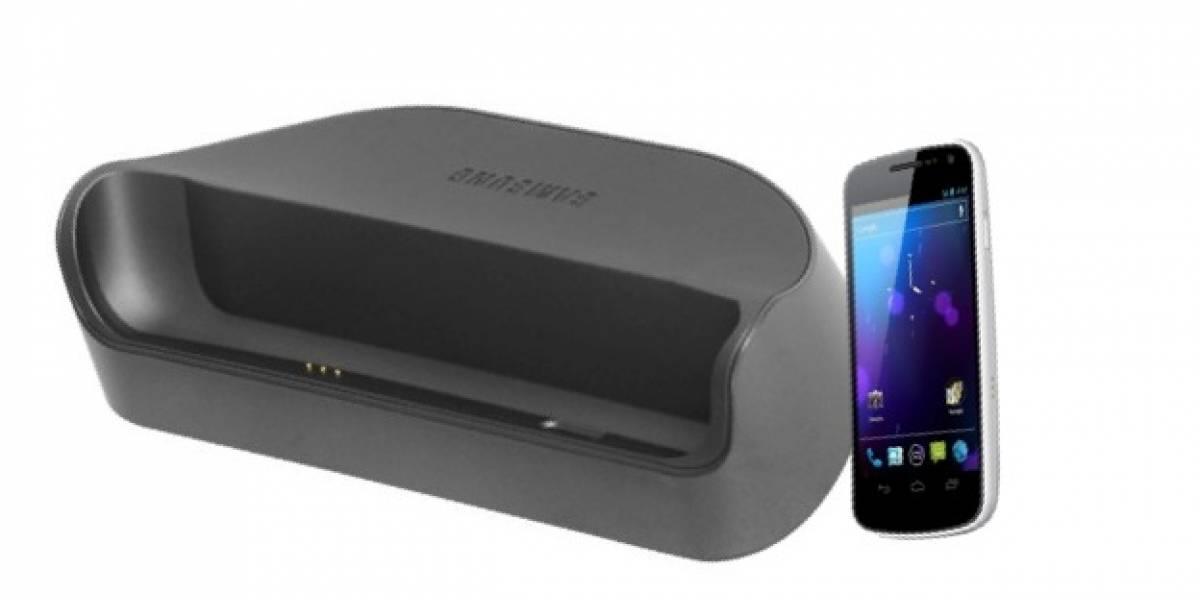 Pogo Desktop Top, un nuevo cargador para Galaxy Nexus