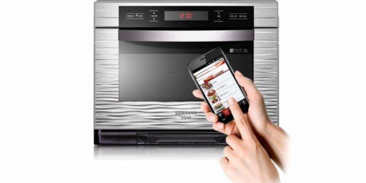 Samsung Zipel, el horno controlado por Android