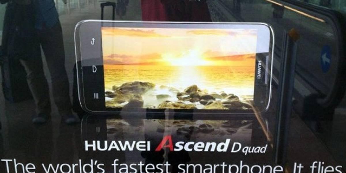 MWC12: Huawei Ascend D Quad, el teléfono más rápido del mundo