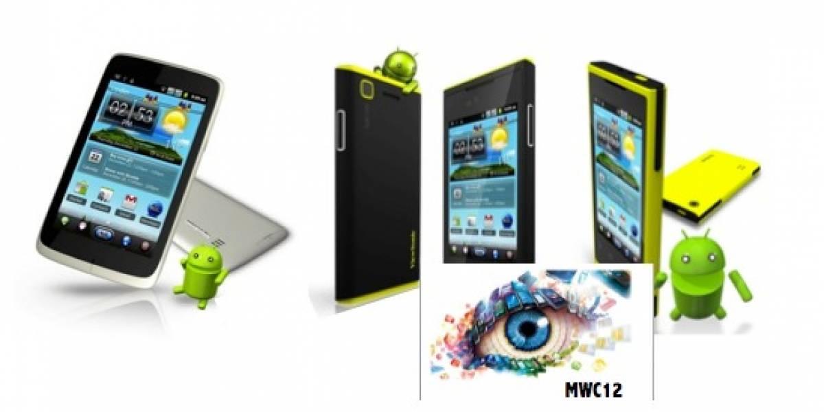 MWC12: Viewsonic revela sus propuestas