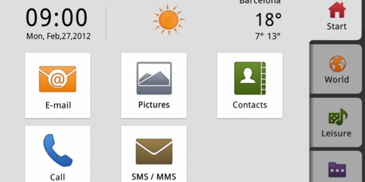 MWC12: Doro muestra PhoneEasy, un smartphone 3G para abuelitos