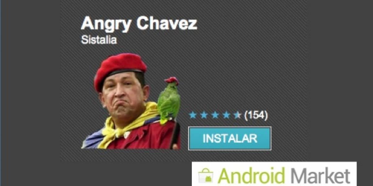 Venezuela: Angry Chávez, lleva la voz del Presidente en tu Android