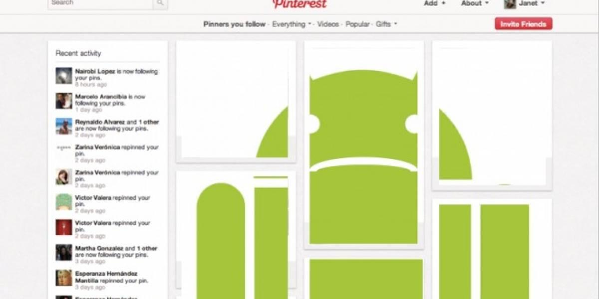 Pinterest llegará a iPad primero que a Android