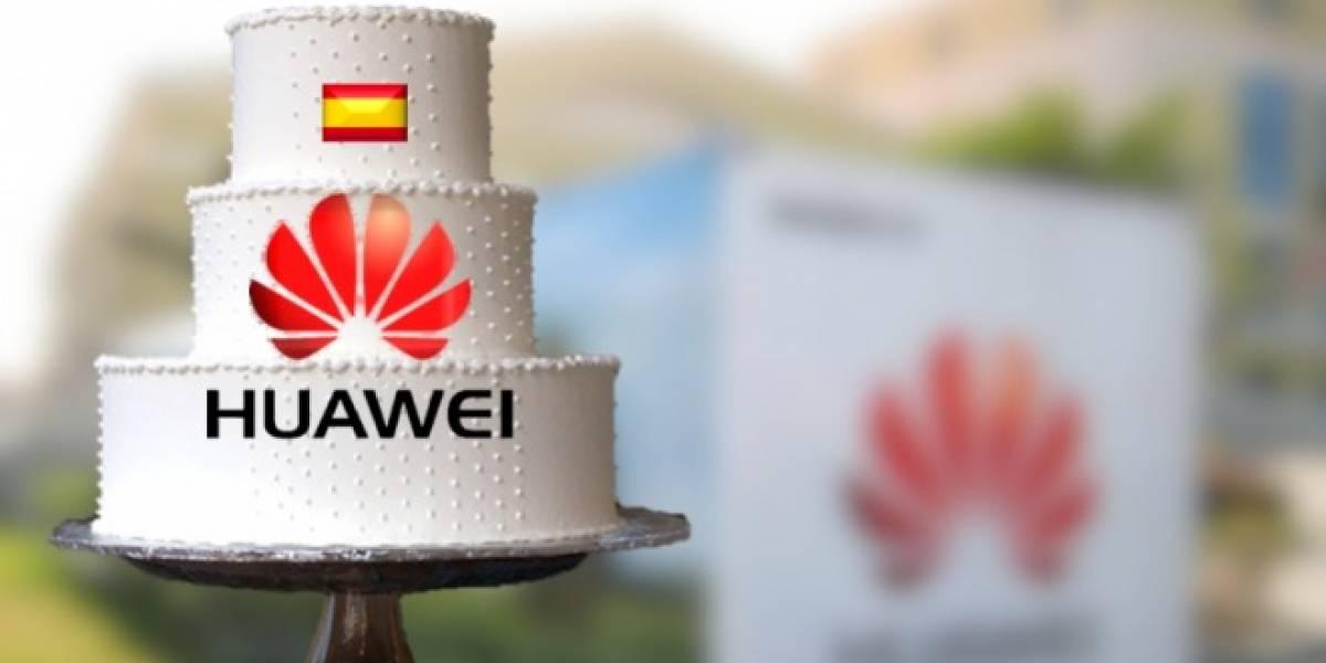 España: Huawei celebra su décimo cumpleaños