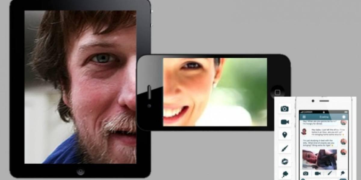 Pair, la app que mantiene unidos a los novios a distancia